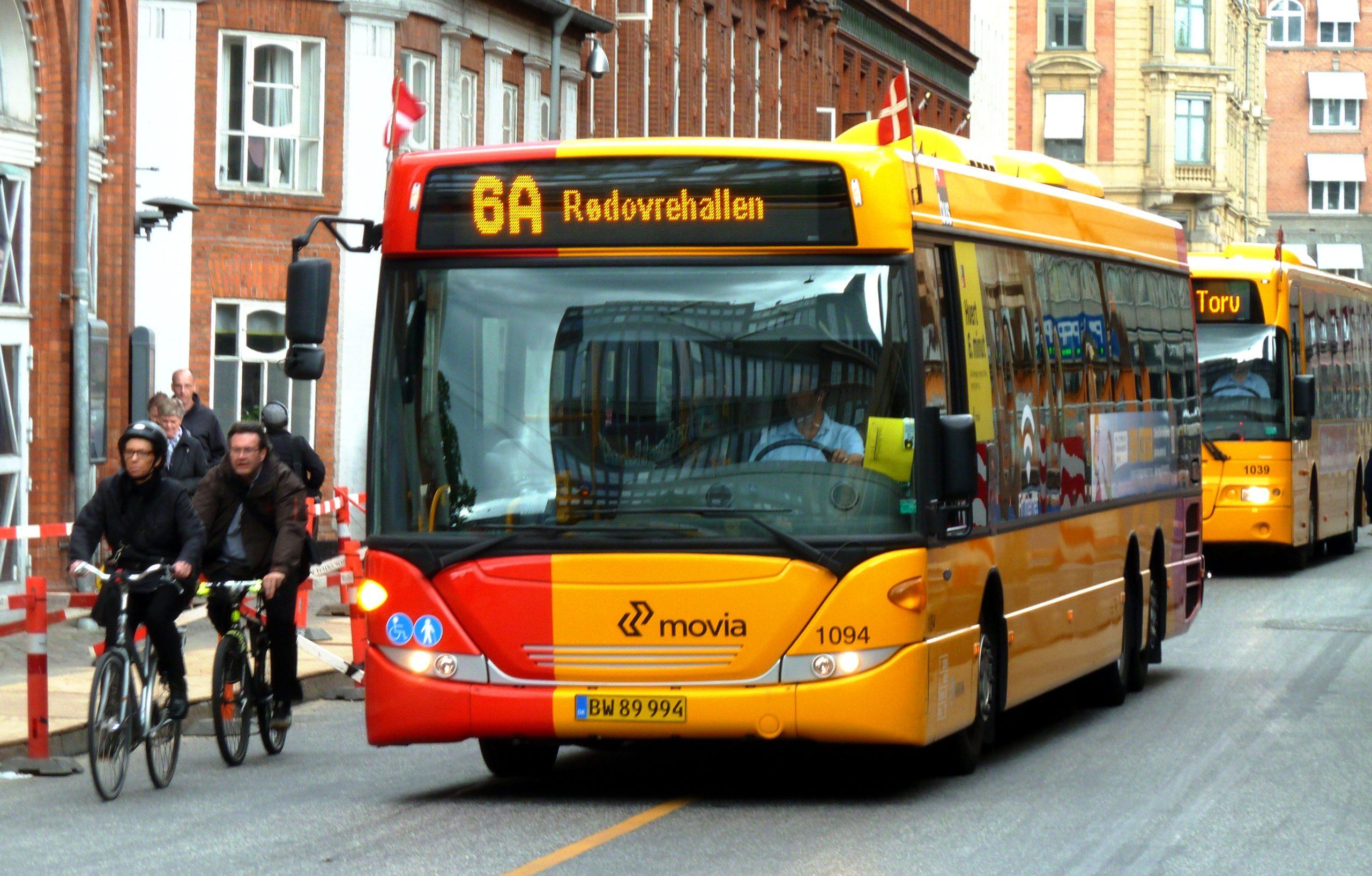 Общественный транспорт Копенгагена
