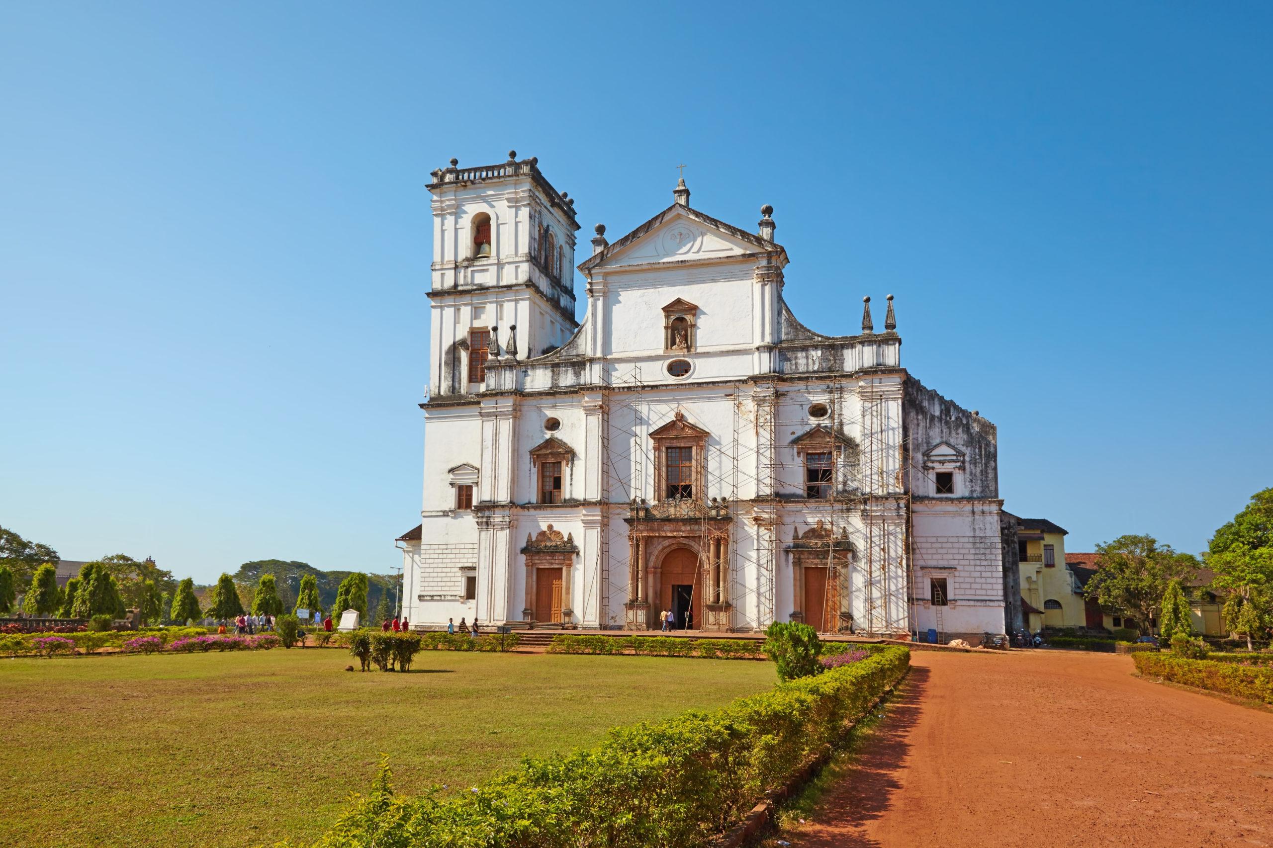 Собор Св. Екатерины, Гоа, Индия