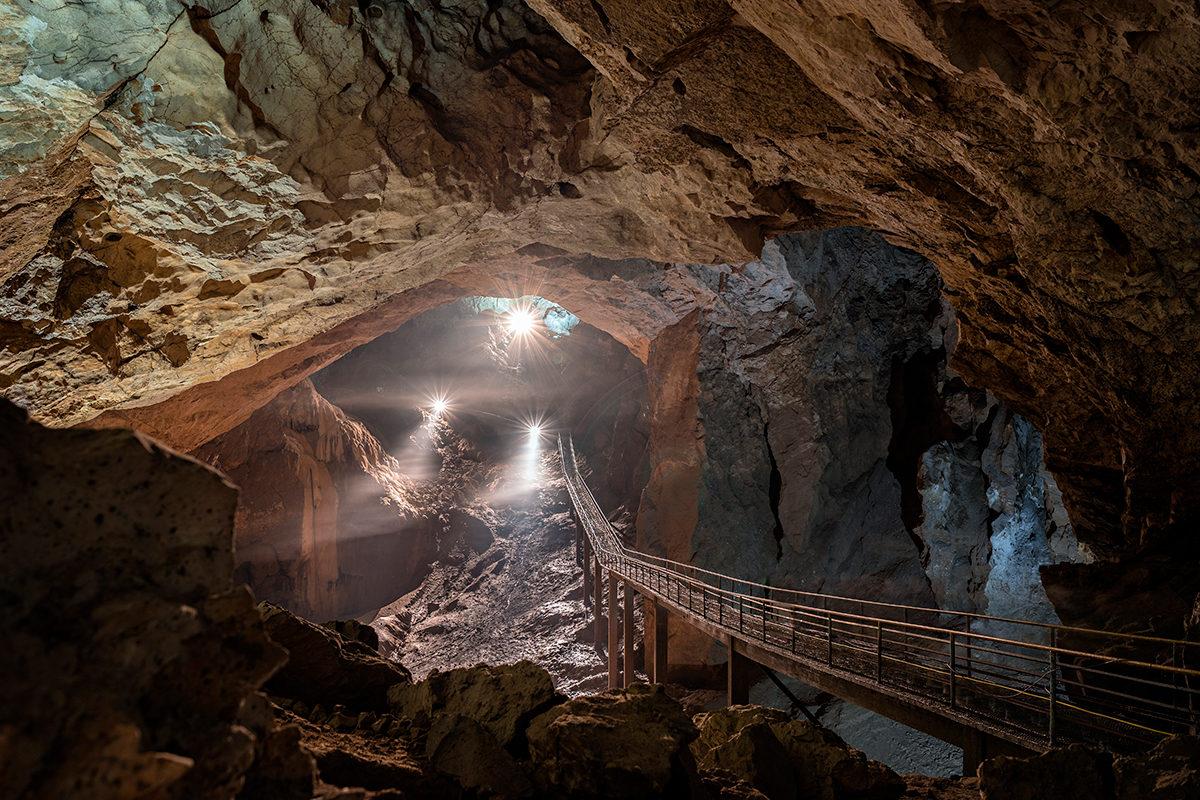 Пещерный  комплекс Нового Афона, Абхазия