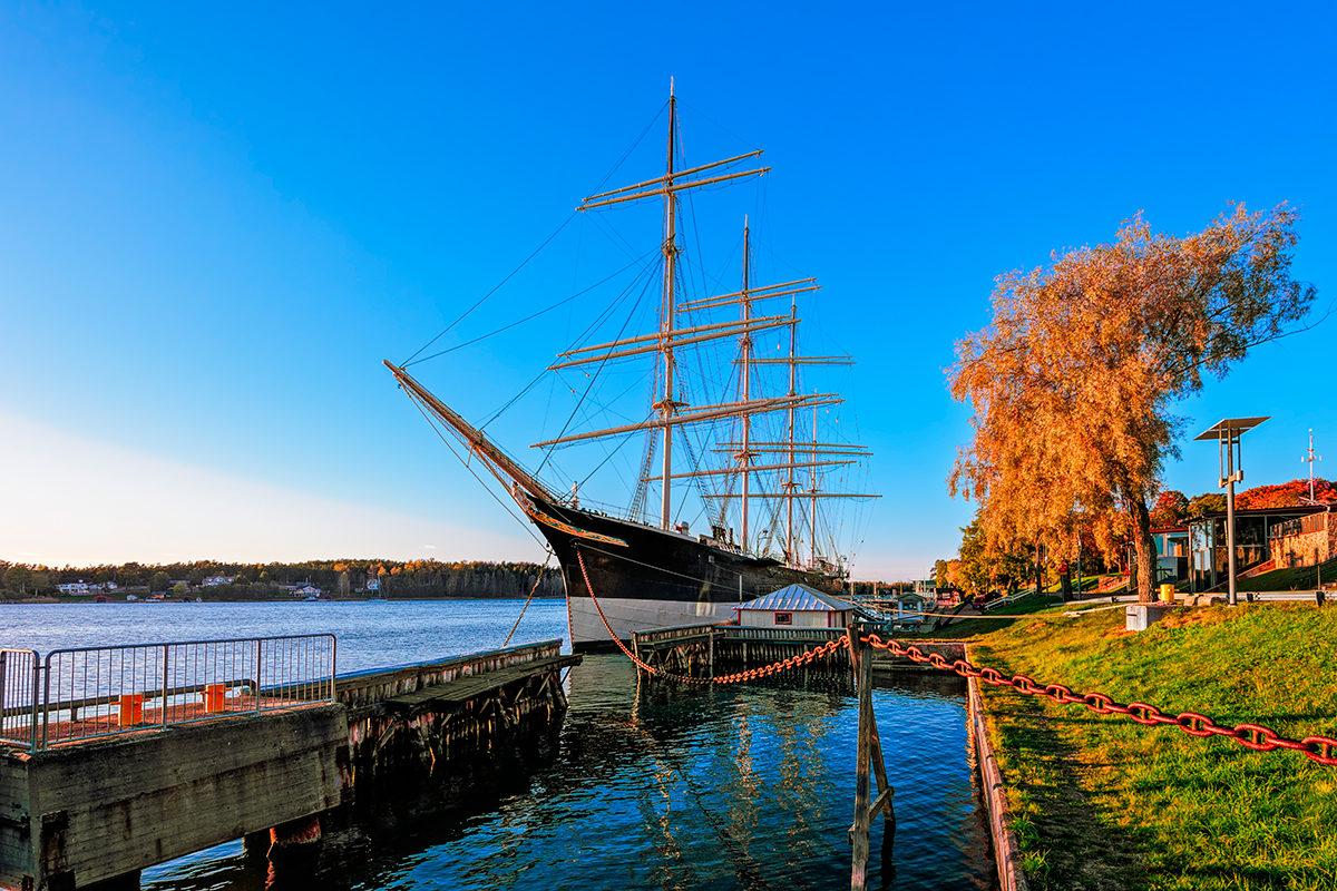 Корабль-музей, Аландские острова