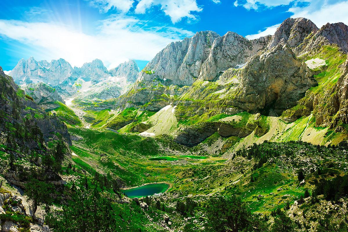 Прекрасная природа Албании