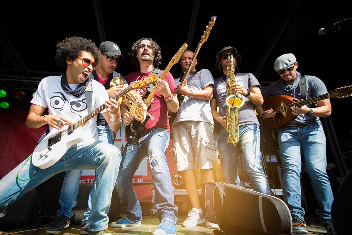 Концерт одной из местных групп