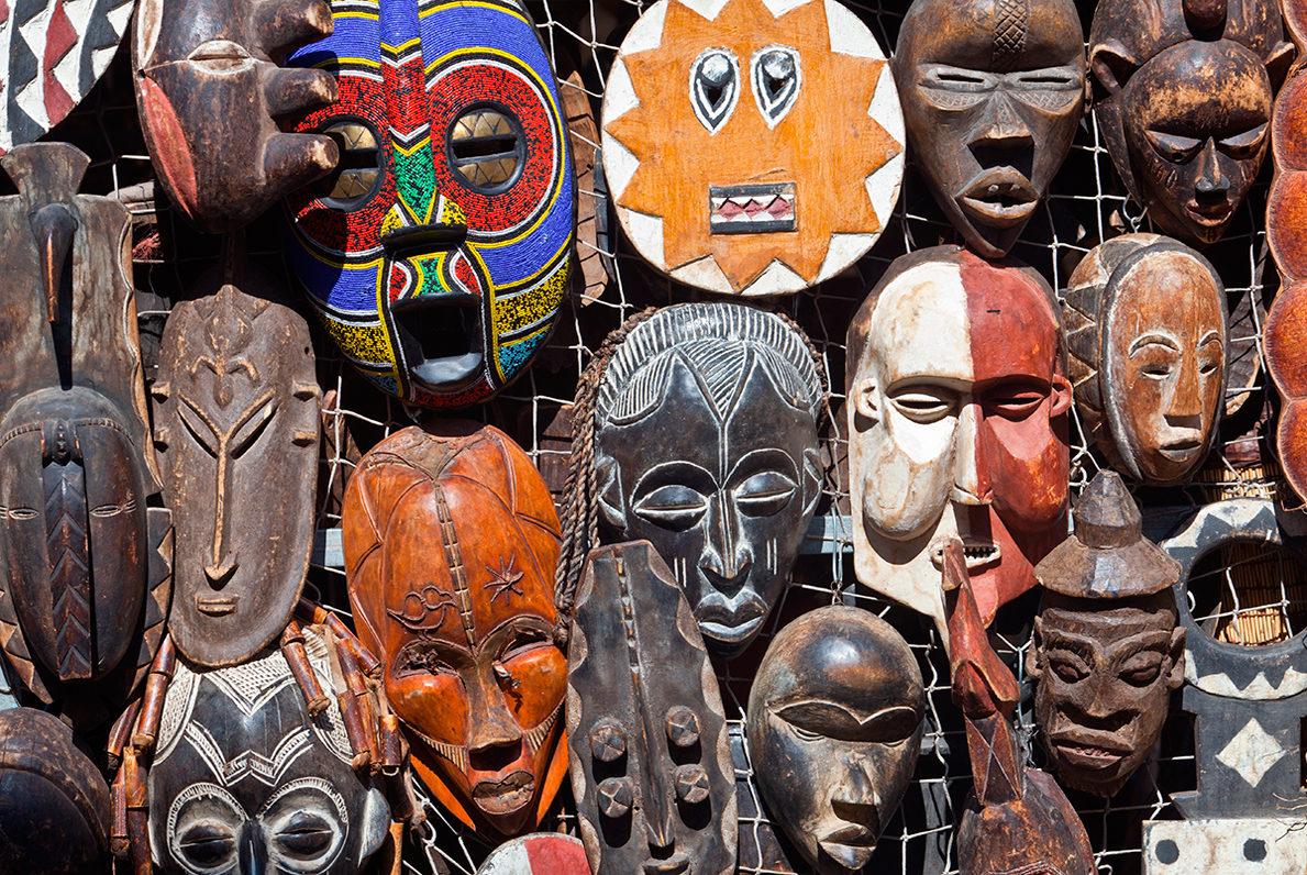 Сувенирные маски
