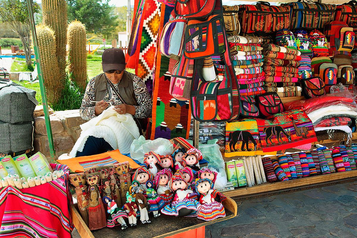 Продажа сувениров ручной работы, Аргентина