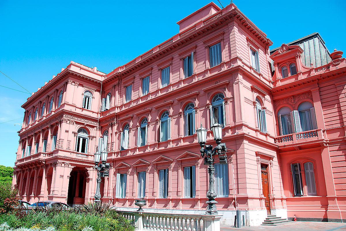 Розовый дом, Буэнос-Айрес