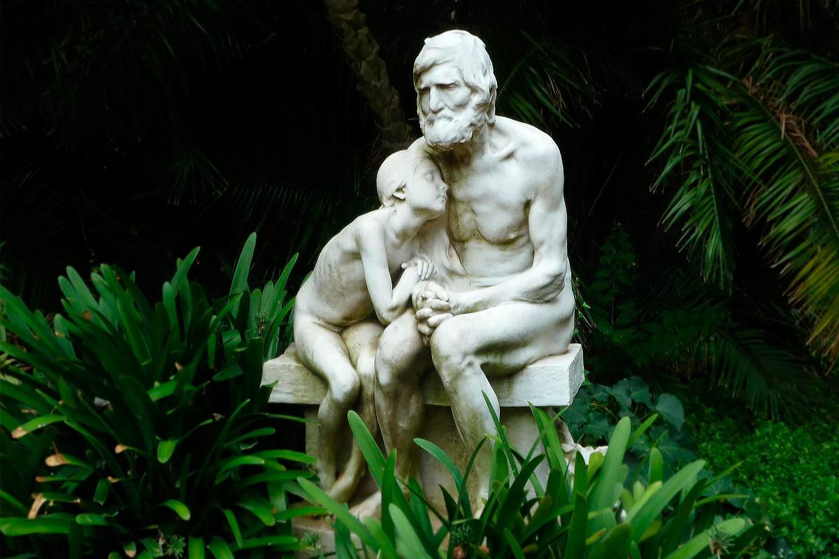 Первые морозы-скульптура в саду Ботанико, Буэнос-Айрес
