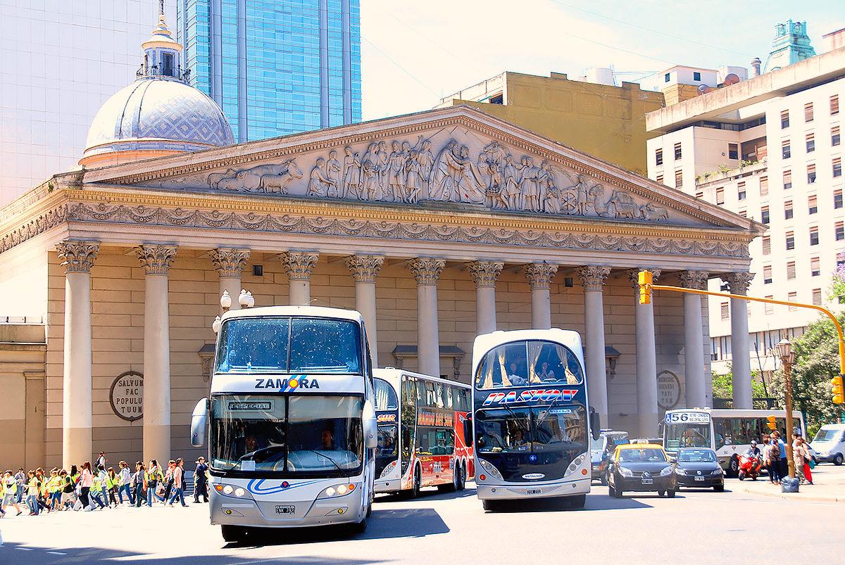Поток туристов, Кафедральный собор Буэнос-Айреса