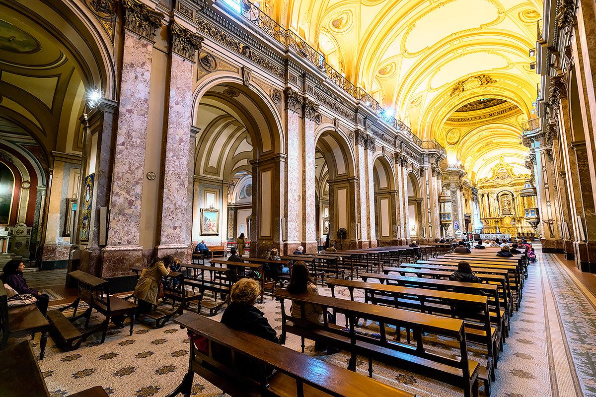 В Кафедральном соборе, Буэнос-Айрес
