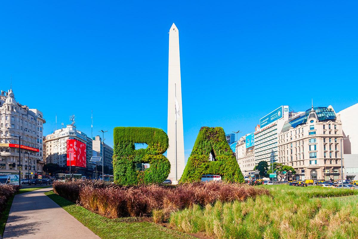 Обелиск, Буэнос-Айрес