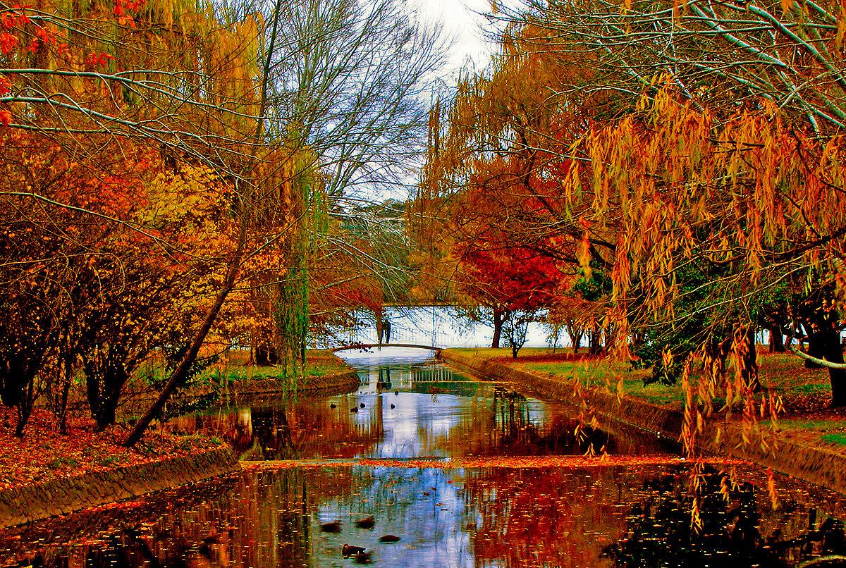 Канал к озеру Берли-Гриффин