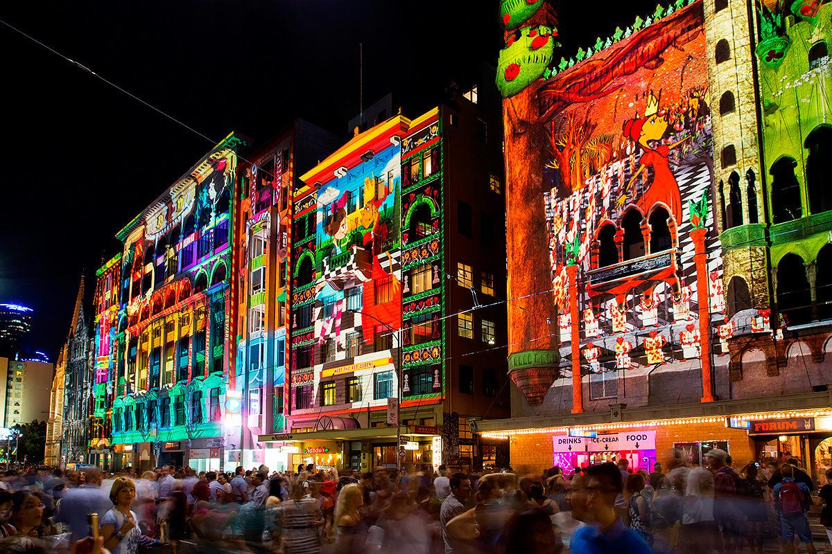 Вестиваль света, Мельбурн