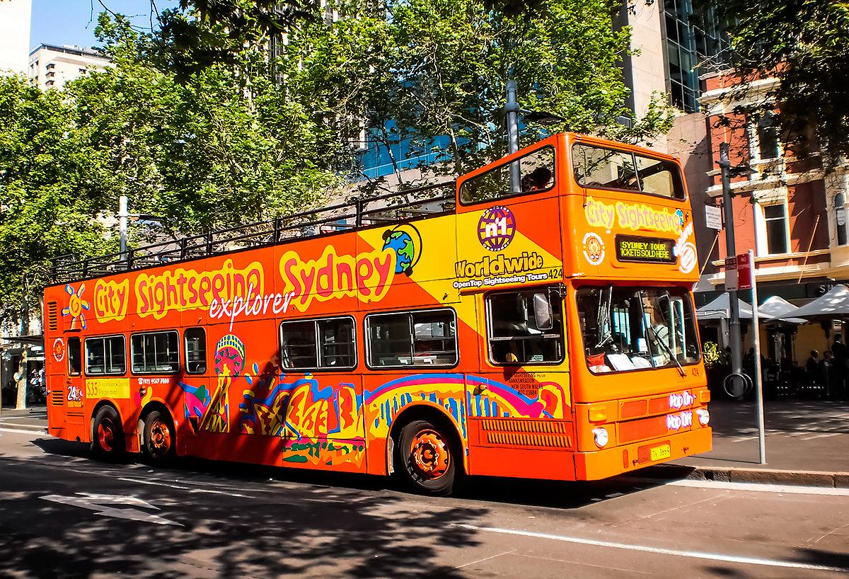 Туристический автобус, Сидней
