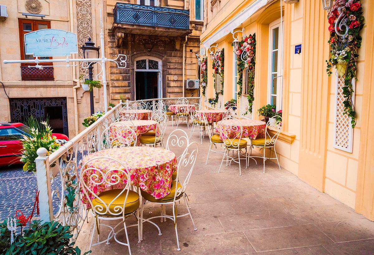 Уютное кафе, Баку