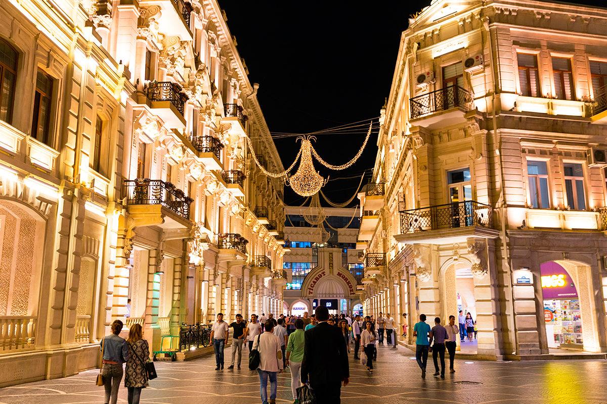 Шопинг-центр в Баку