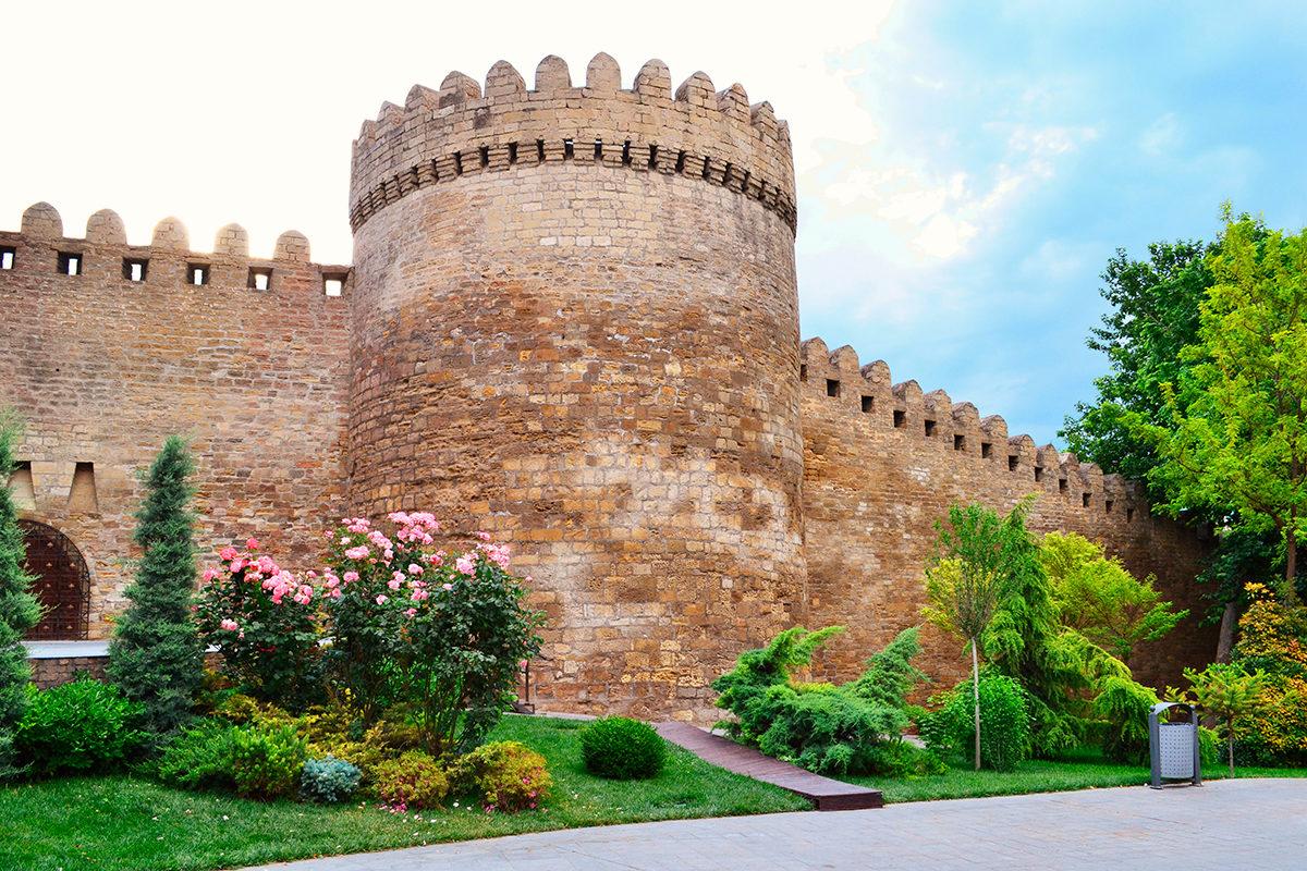 Крепость старого города