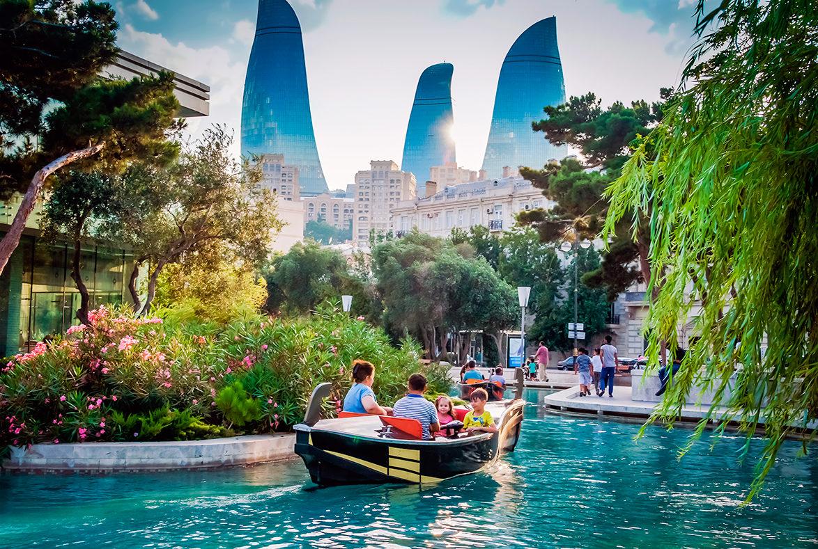 Столица Азербайджана, Баку