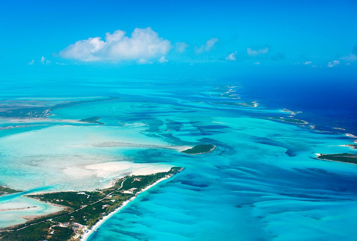 Вид на архипелаг, панорама
