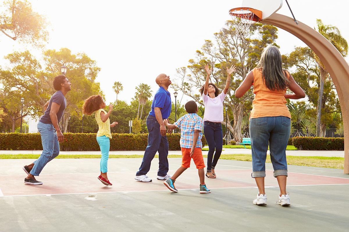 В баскетбол играют все!