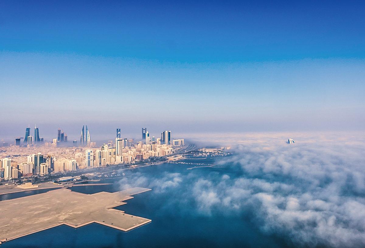 Столица Бахрейна с высоты птичьего полета