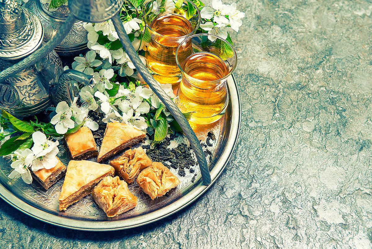 Пахлава с чаем, Бахрейн