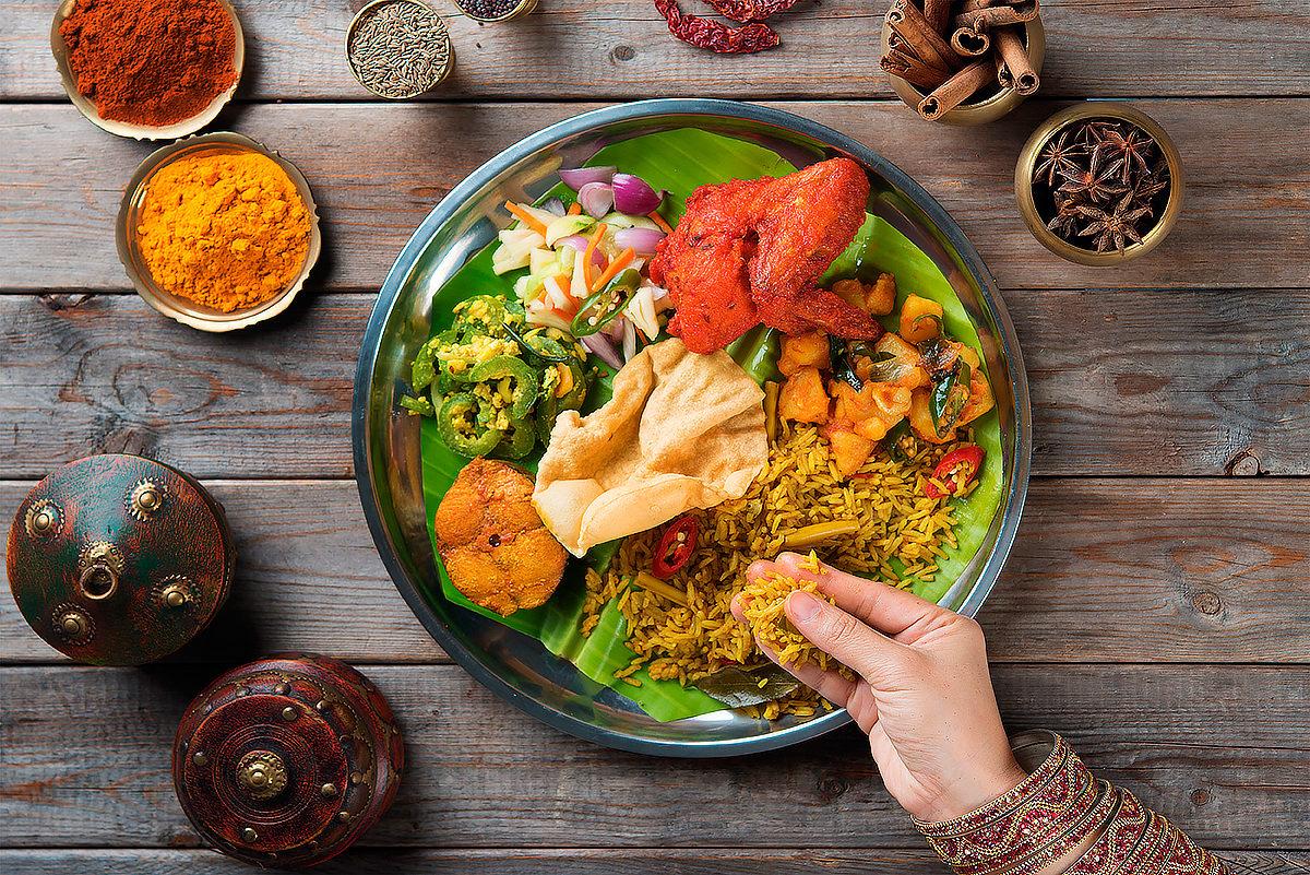 Традиционный прием пищи, Бангладеш