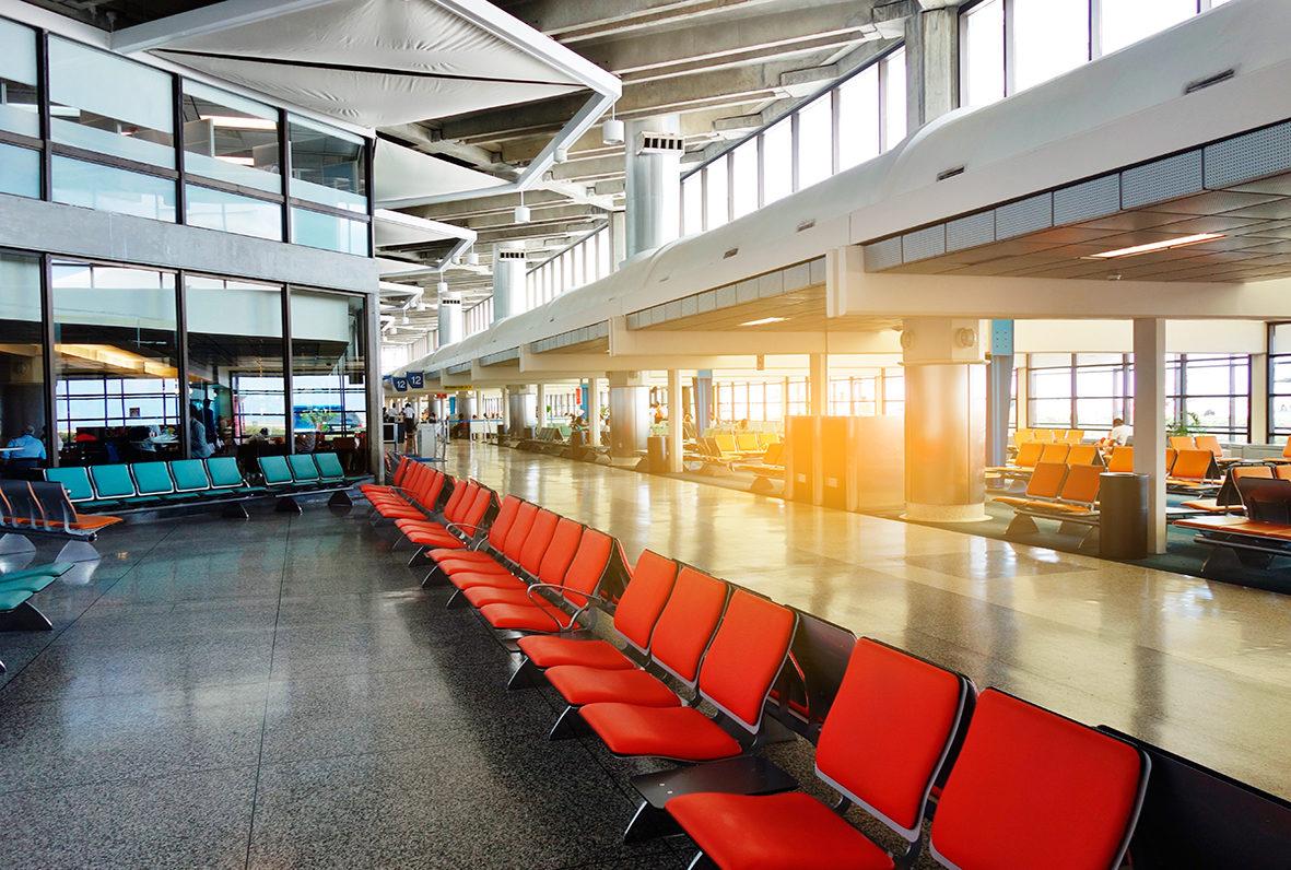 Аэропорт в Барбадосе