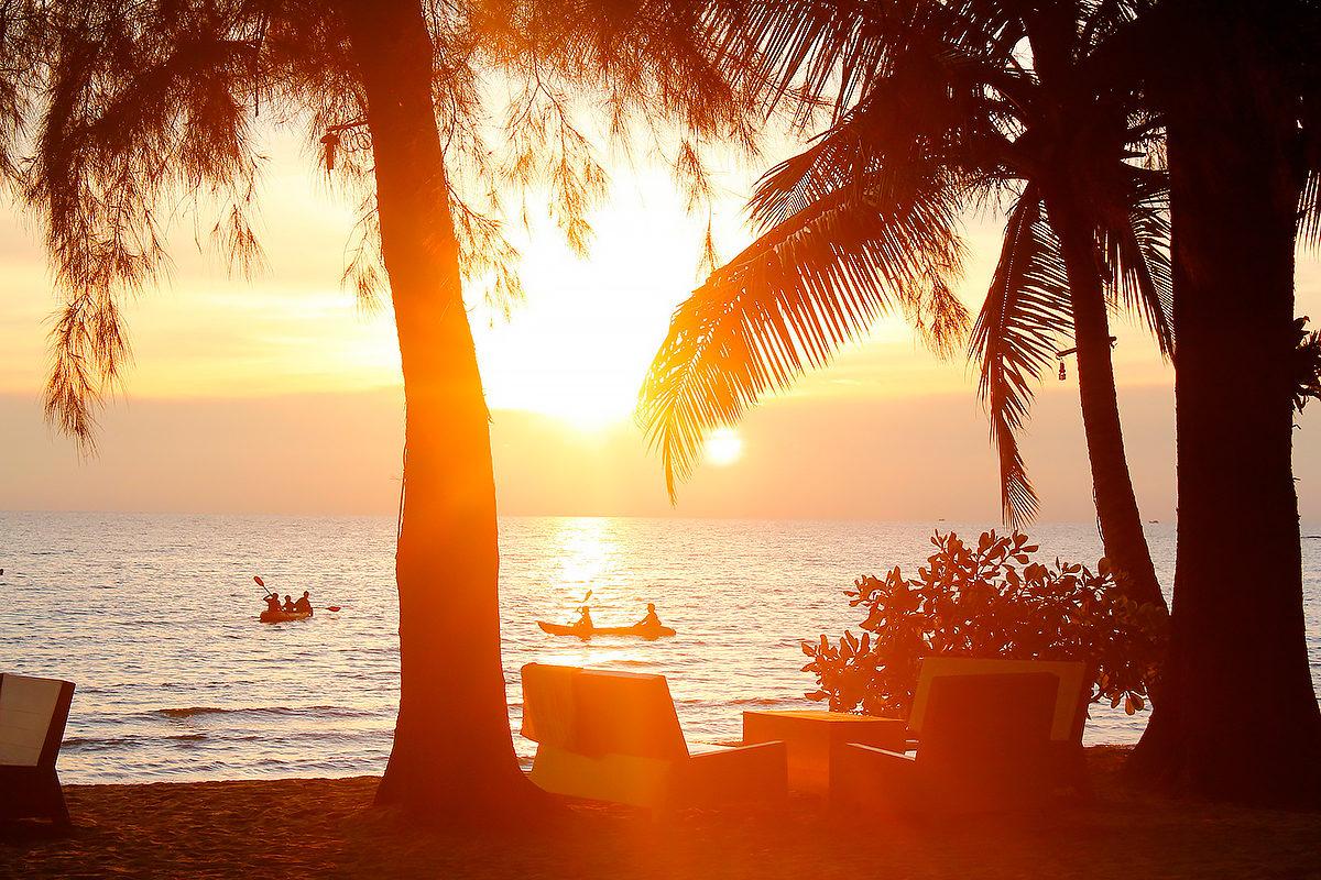 Вечерний пляж, Барбадос