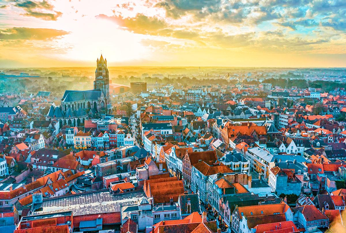 Брюгге, панорама