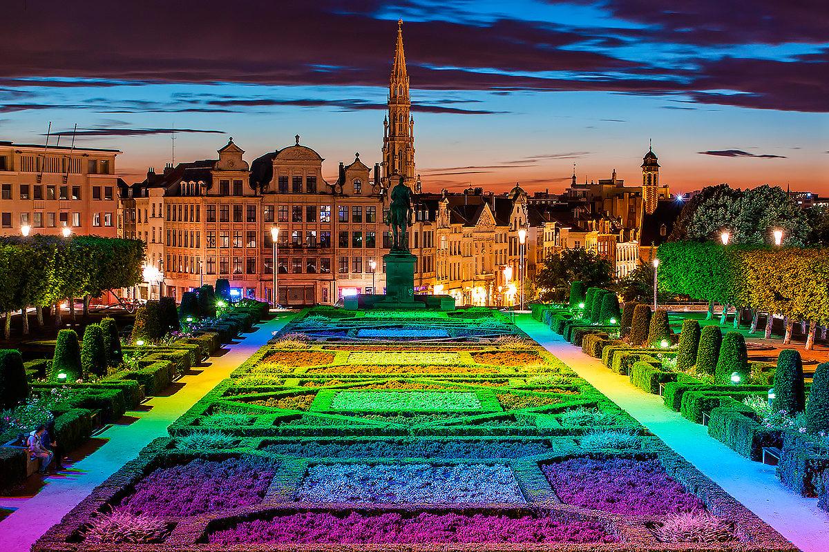 Вечерний Брюссель, Бельгия