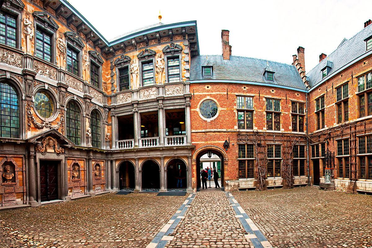 Парадный двор дома Рубенса