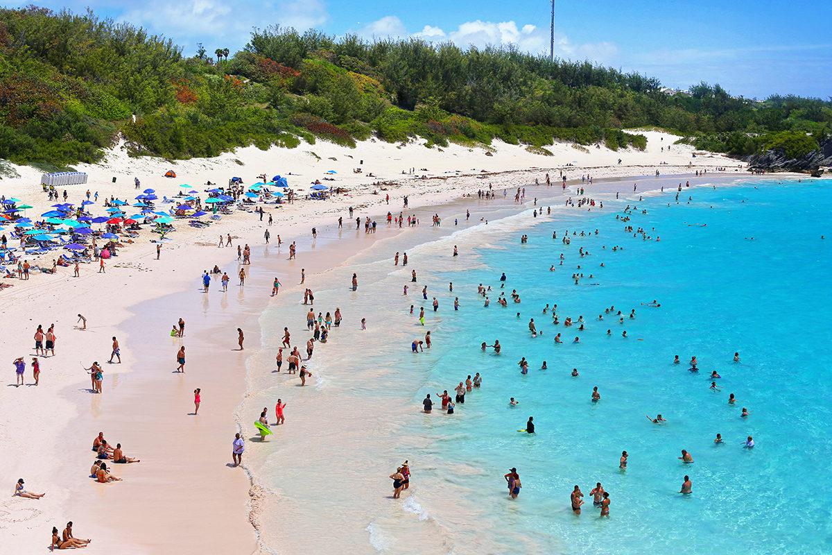 Пляжный отдых на Бермудах