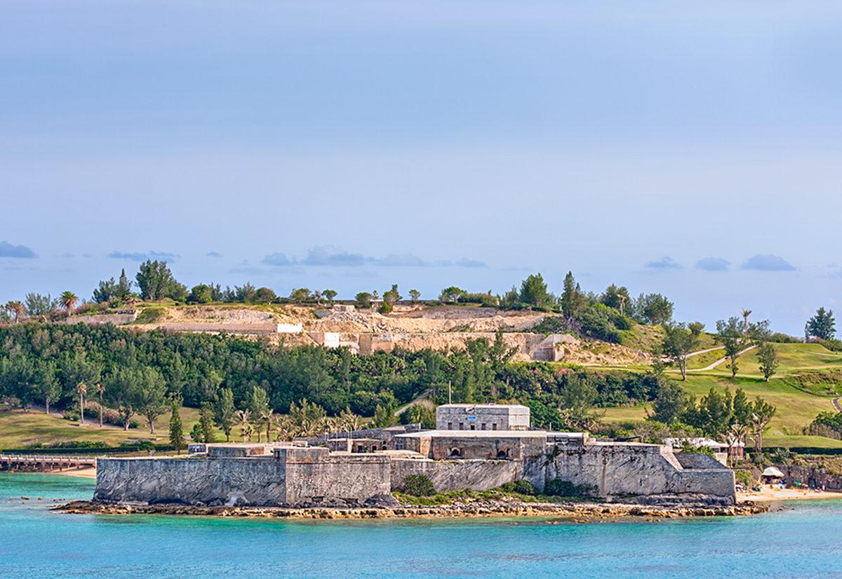 Форт св.Екатерины, Бермудские острова