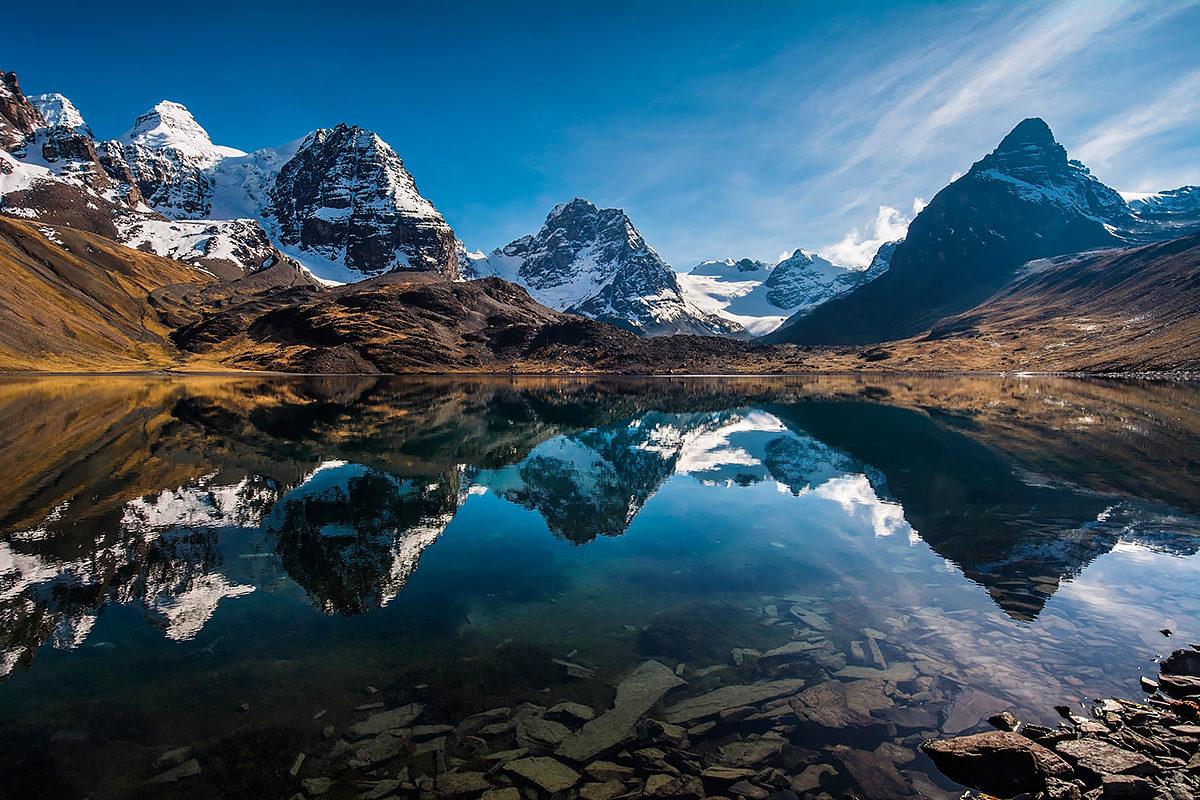 Вершина Кондорири, Боливия