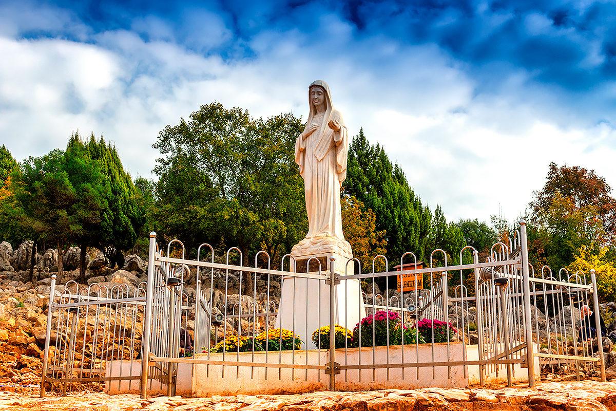 Статуя Девы Марии, Меджугорье