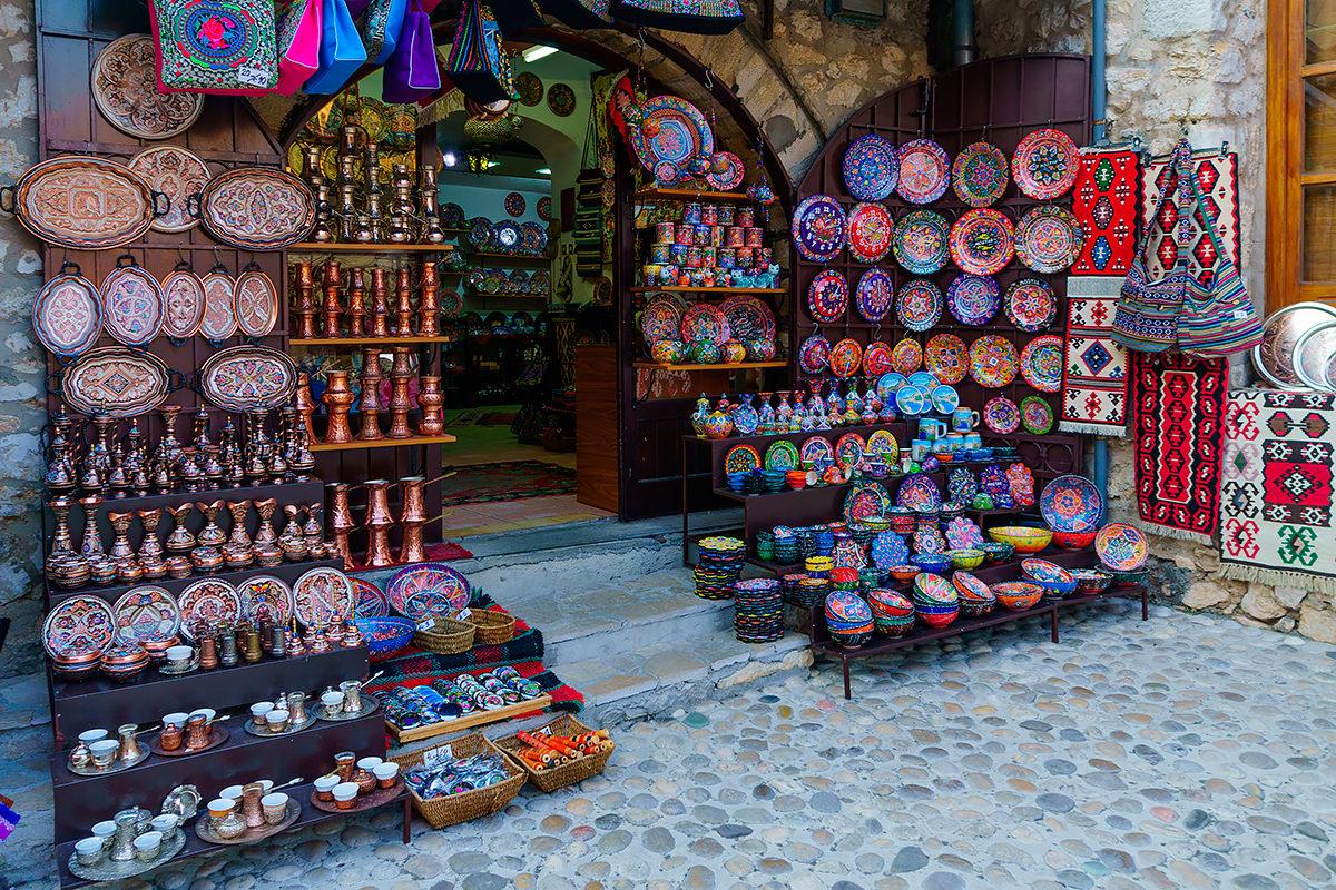 Сувенирная лавка в Мостаре