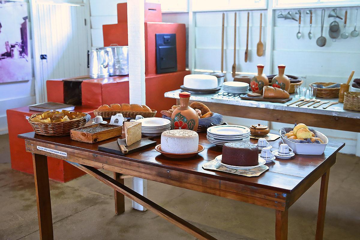 Кухня, Первая резиденция Жуселину Кубичека