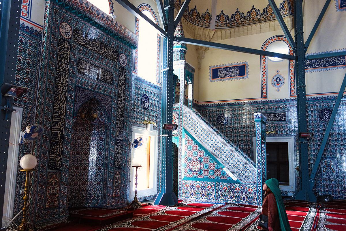 Мечеть Баня Баши, интерьер