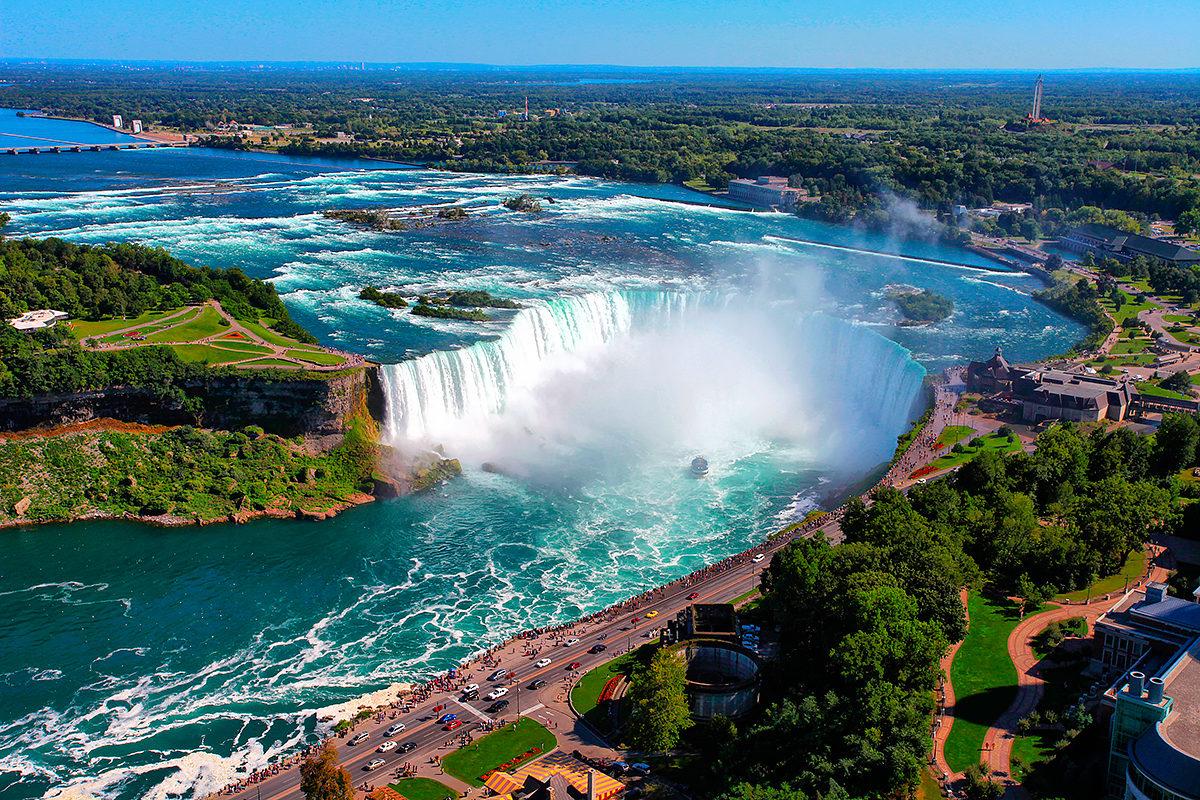 Водопад Подкова, Ниагарские водопады, Канада