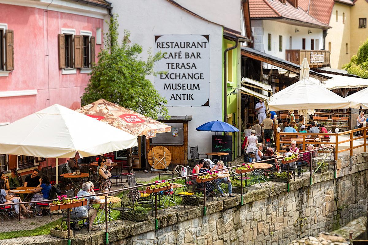 Аутентичный ресторанчик, Чески-Крумлов