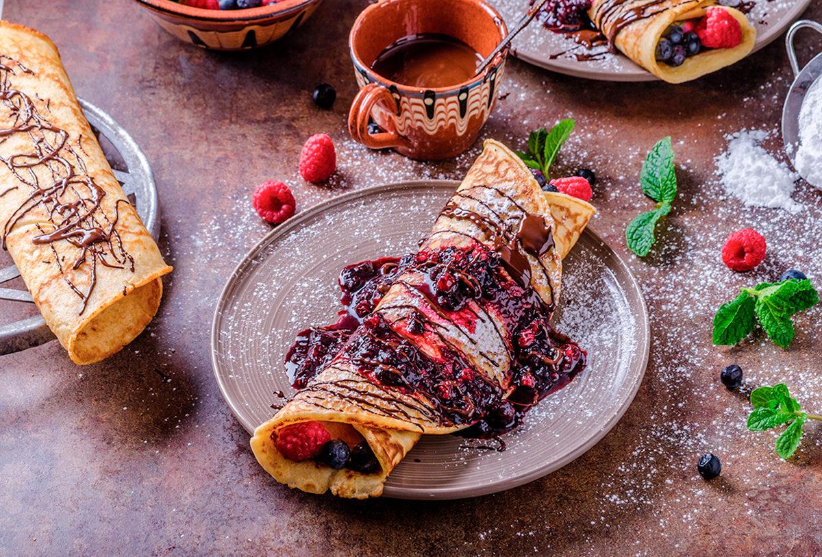 На десерт - чешские блины палачинки