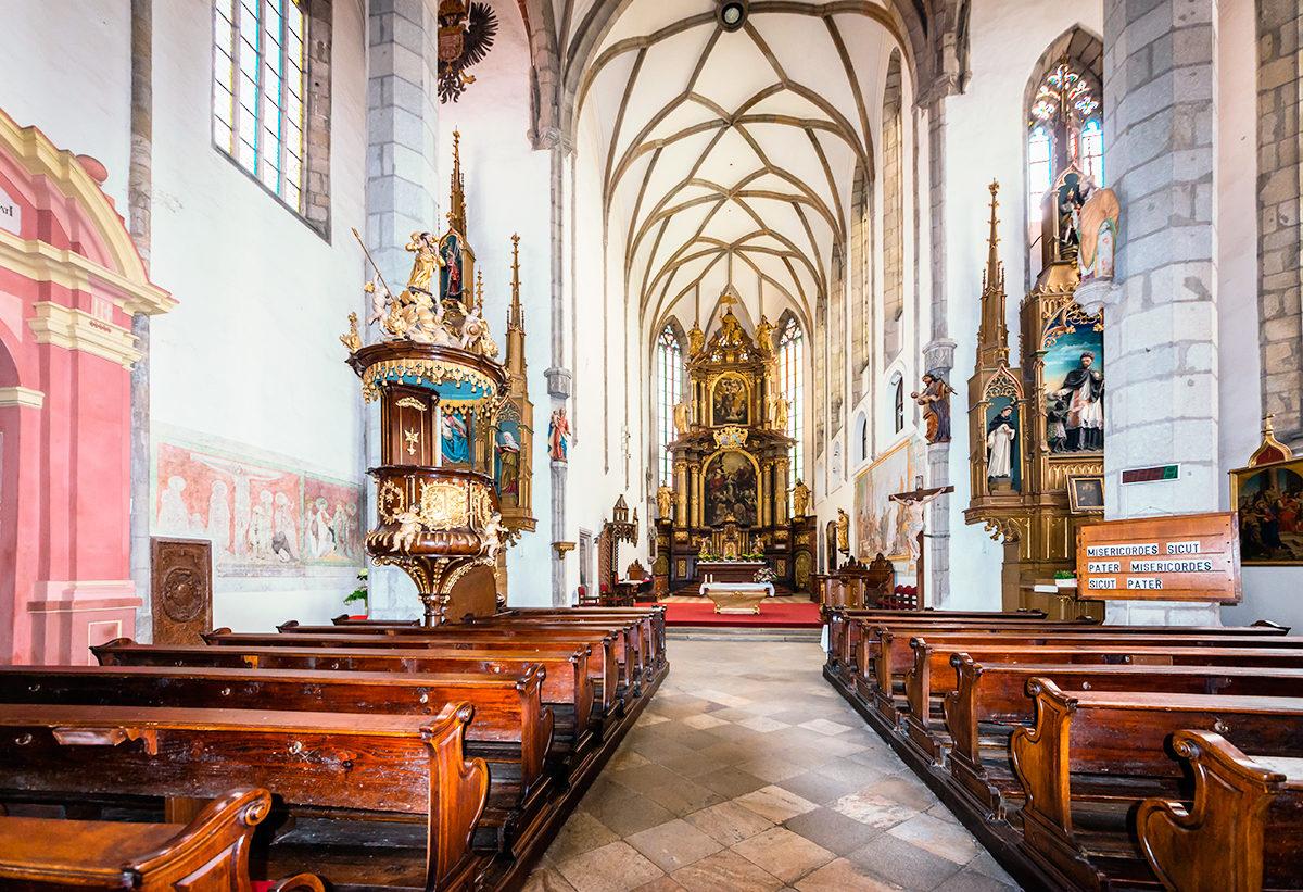 Церковь святого Витта, интерьер