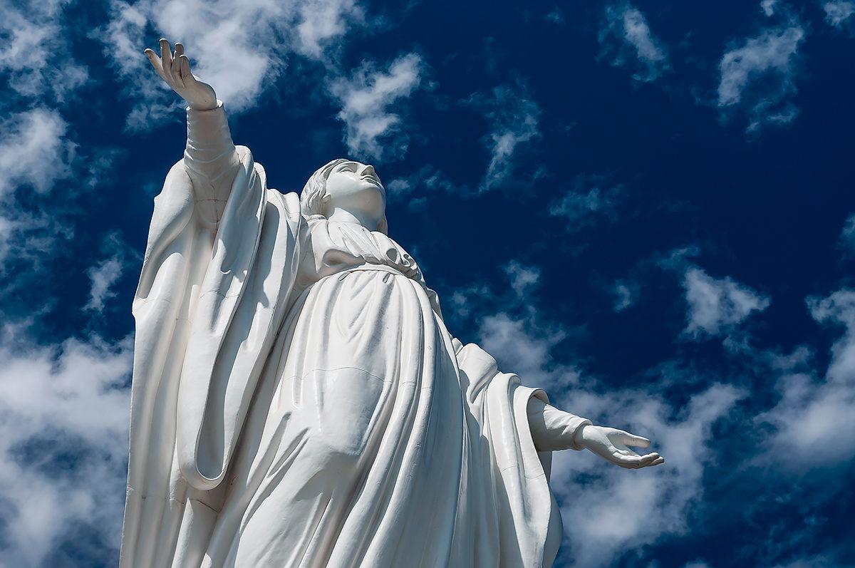 Статуя Девы Марии, Сантьяго, Чили