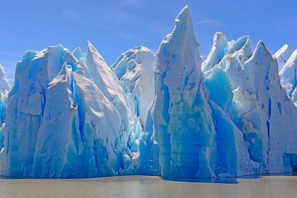 Ледник, Патагония, Чили