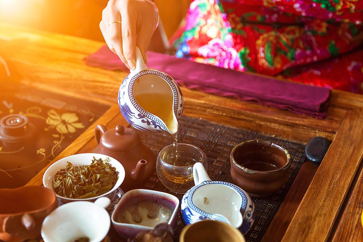 Традиция чайной церемонии