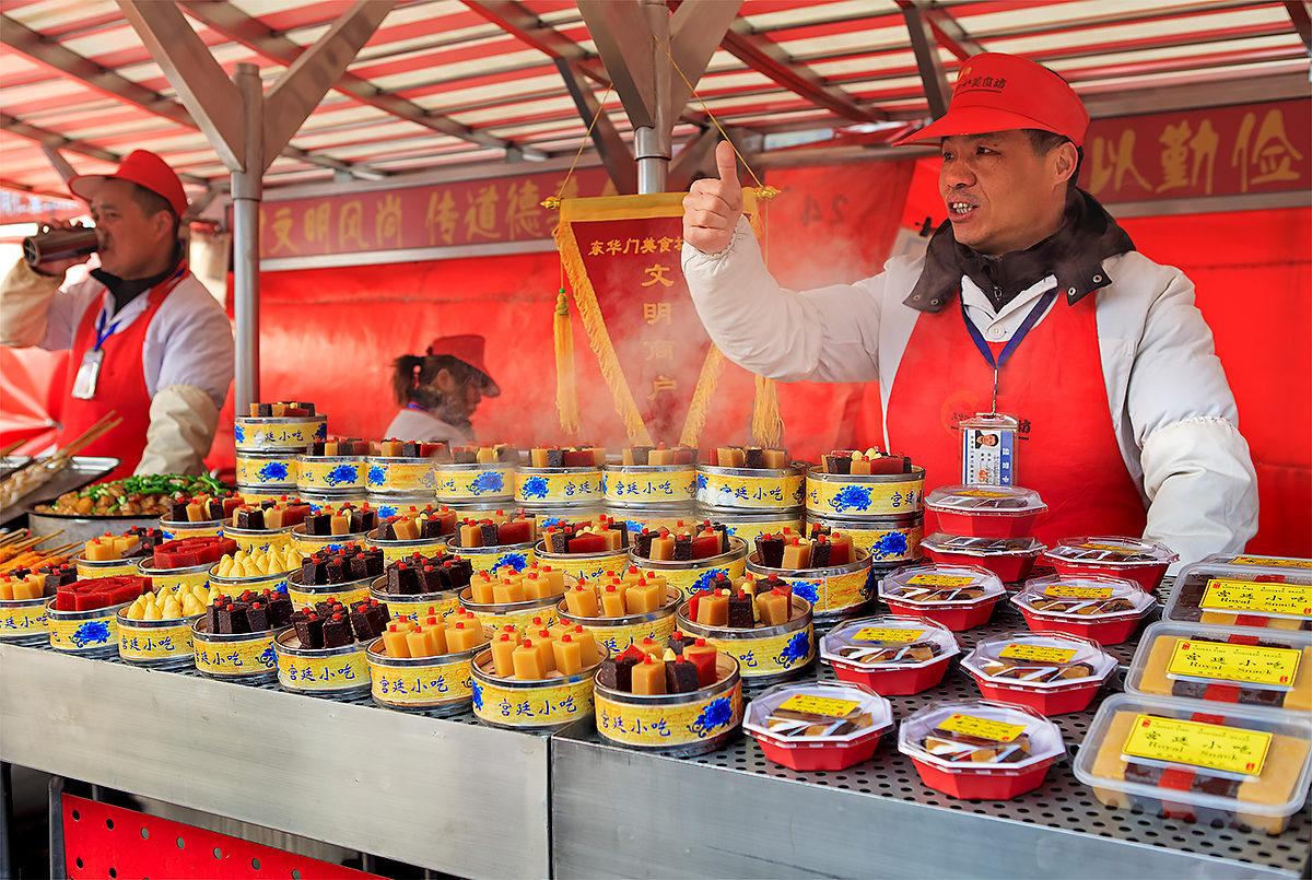 Десерты, Ночной рынок Дунхуамэнь