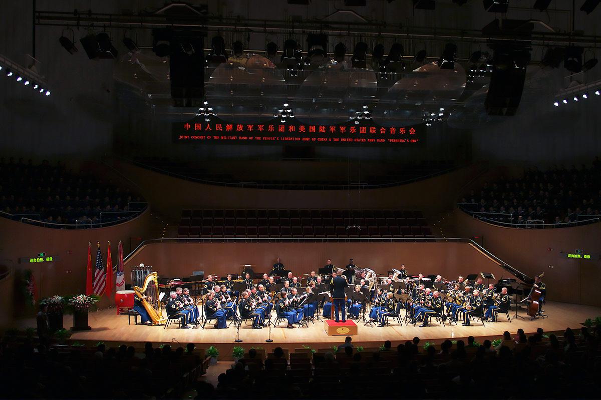 Концерт в Шанхайском центре восточного искусства