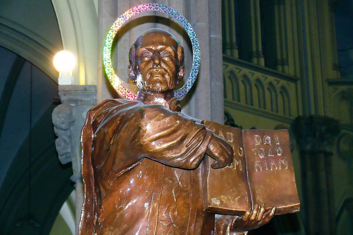 Скульптура Святого Игнатия