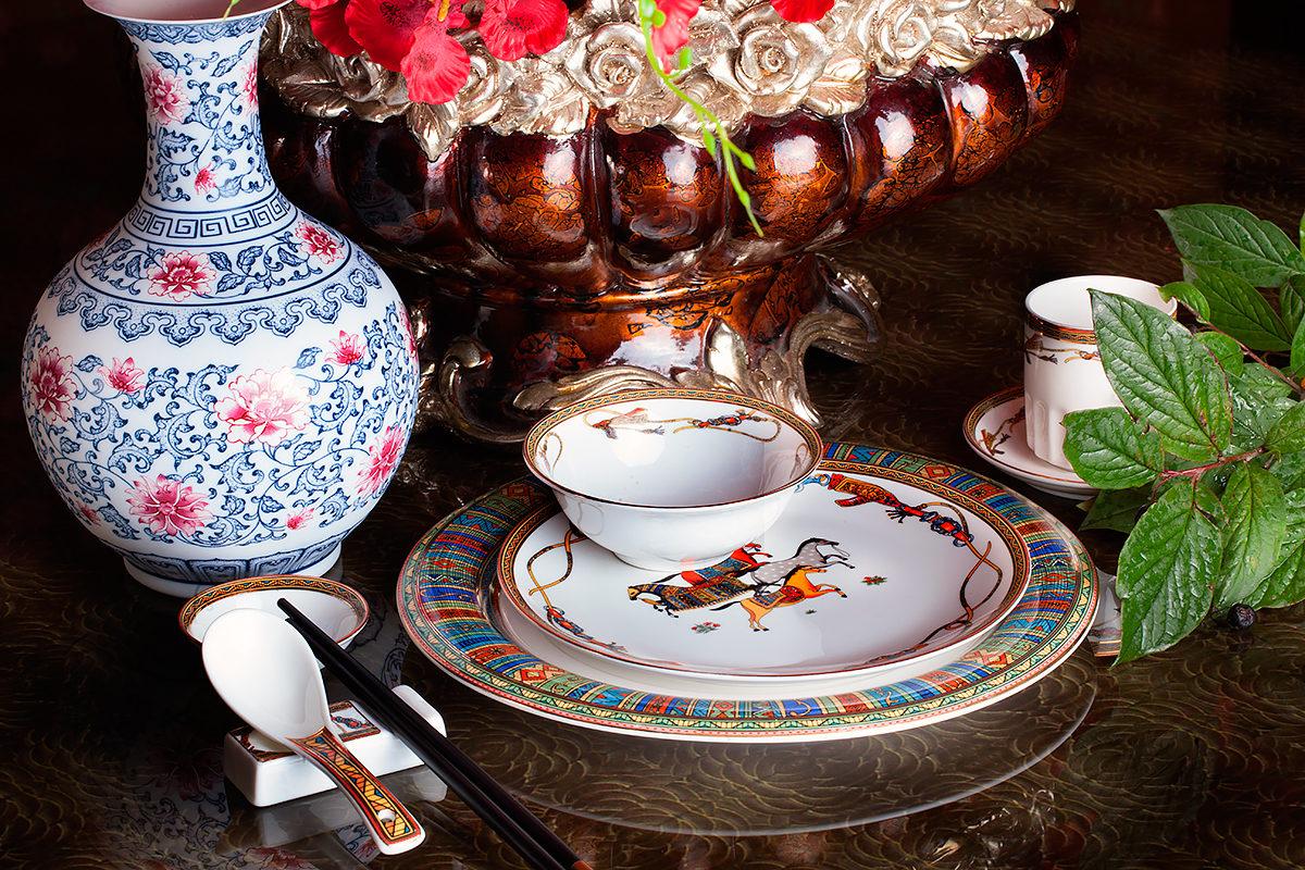 Сервировка стола в традиционном стиле