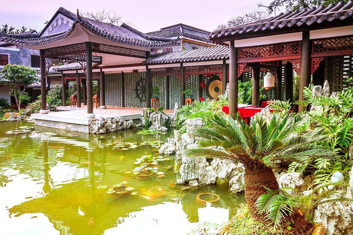 Павильнон в традициях Китая, Гуанчжоу