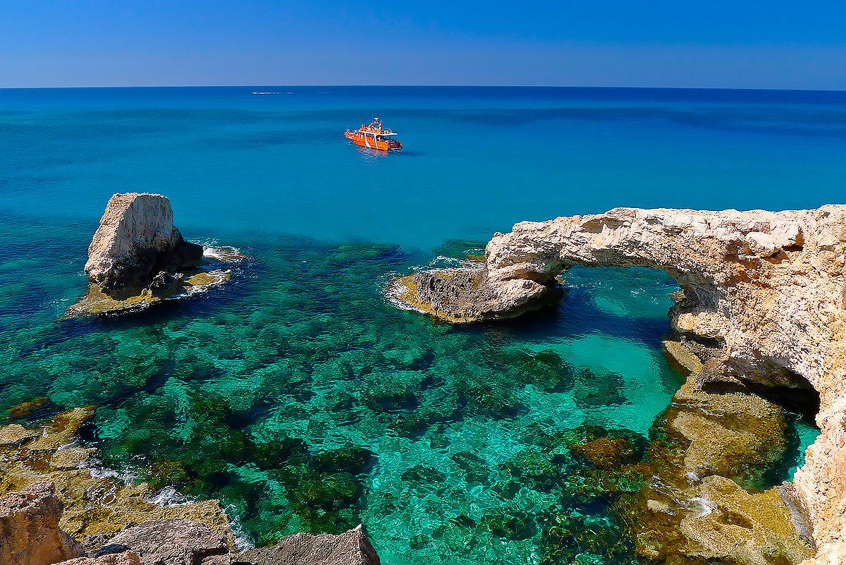 Морской пейзаж, Кипр